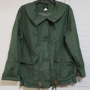 J Crew Rain Coat